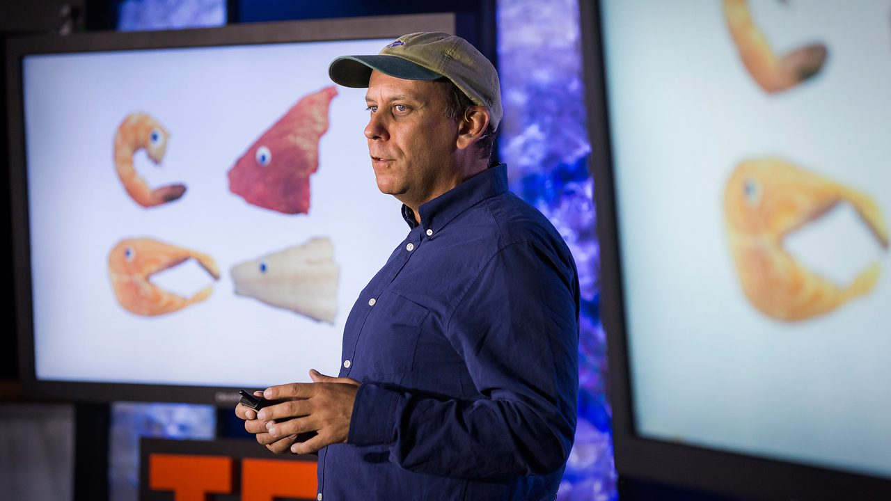 Paul Greenberg delivers Ted Talk
